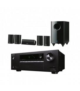 Receiver multicanal AV 5.1 Onkyo TX-SR252 Black cu set de Boxe SKS-HT528