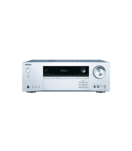 Network A/V Receiver 5.1 Onkyo TX-NR474 Silver, Dolby Atmos®, DTS:X™, Chromecast, Surround Enhancer, DTS Play-Fi®, Spotify®