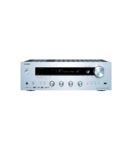 Network Receiver stereo Hi-Fi Onkyo TX-8150 Silver, Bluetooth Audio, Wi-Fi®, and AirPlay, Spotify