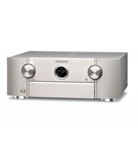 Receiver AV 9.2 Marantz SR6012 Silver, AirPlay, Bluetooth, TuneIn Internet Radio, HEOS, Amazon Alexa