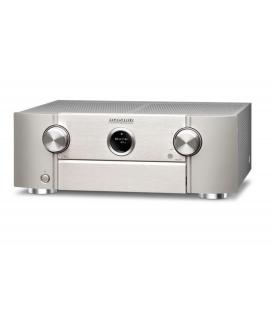 Receiver AV 9.2 Marantz SR6012 Silver, AirPlay, Bluetooth, TuneIn Internet Radio, HEOS, Amazon Alexa