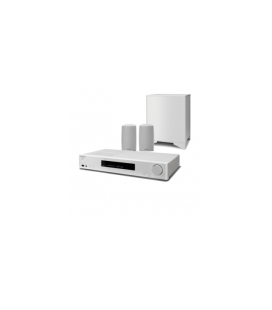 Sistem Home CIinema 2.1 Onkyo LS5200 White, Chromecast, DTS Play-Fi®, FlareConnect™