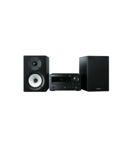 Micro Sistem Stereo Hi-Fi Mini Onkyo CS-N765 Black/Black, DLNA, Hi-Res Playback, Spotify, TuneIn Radio, Deezer