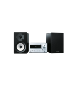 Micro Sistem Stereo Hi-Fi Mini Onkyo CS-N765 Silver/Black, DLNA, Hi-Res Playback, Spotify, TuneIn Radio, Deezer