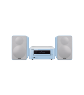 Micro Sistem Stereo Hi-Fi Onkyo CS-265 Light Blue, Bluetooth®, NFC, USB, FM