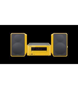 Micro Sistem Stereo Hi-Fi Onkyo CS-265 Yellow, Bluetooth®, NFC, USB, FM