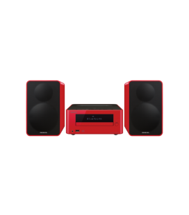 Micro Sistem Stereo Hi-Fi Onkyo CS-265 Red, Bluetooth®, NFC, USB, FM