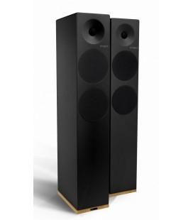 Boxe Wireless cu Bluetooth® Tangent Spectrum X6 BT Phono Black - pereche