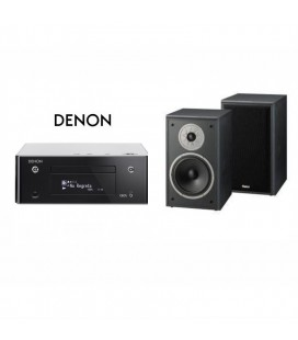 Network Receiver Stereo Denon Ceol RCD N9 Black cu Boxe de raft Magnat Supreme 202