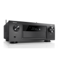 Receiver AV 9.2 Denon AVR-X4400H Black, 200W per channel, HEOS built-in, Wi-Fi, Airplay, Bluetooth®, 4K Ultra HD, Hi-Res®