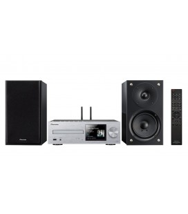 Micro Sistem Stereo Hi-Fi Pioneer X-HM76D - silver/black