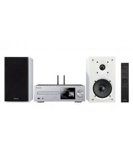 Micro Sistem Stereo Hi-Fi Pioneer X-HM76D - silver/white