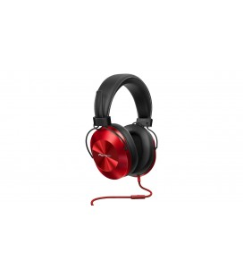 Casti over ear cu microfon Pioneer SE-MS5T - red