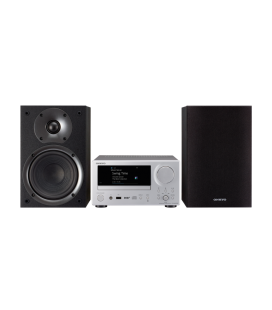 Micro Sistem Stereo Hi-Fi Mini Onkyo CS-575D Black/Black, Bluetooth®, Chromecast , FlareConnect™, Wi-Fi®, DTS Play-Fi®, DAB+