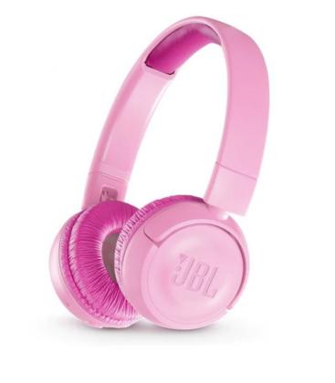 Casti on ear wireless cu Bluetooth® 4.0 JBL JR300BT Punky Pink, Child Friendly