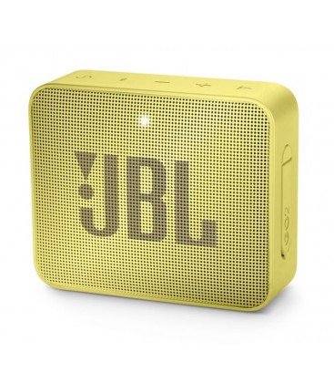 Boxa wireless portabila cu Bluetooth® JBL GO 2 Sunny Yellow, IPX7 Waterproof