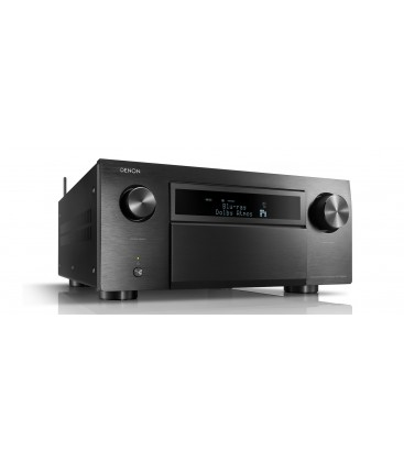 Receiver AV 7.2.6 Denon AVR-X8500H Black, Full 4K Ultra HD, HEOS, Dolby Atmos, DTS:X, Auro-3D