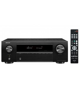 Receiver AV 5.1 Denon AVR-X250BT, 130W per channel, Bluetooth®, HDR, Auto Setup, Eco mode, Remote App