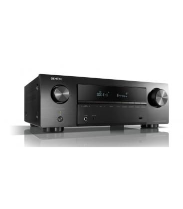 Receiver AV 5.2 Denon AVR-X550BT, 130W per channel, Bluetooth®, HDR, Auto Setup, Eco mode, Remote App