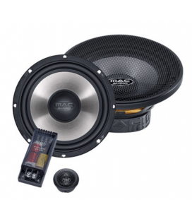 Boxe auto componente MAC AUDIO Power Star 216, 16.5 cm, 100W RMS, 90db