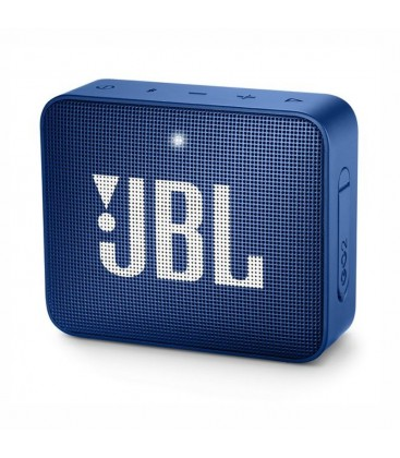 Boxa wireless portabila cu Bluetooth® JBL GO 2 Deep Sea Blue, IPX7 Waterproof