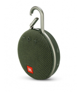 Boxa portabila wireless cu Bluetooth® JBL Clip 3 Forest Green, IPX7 Waterproof, baterie 1000mAh