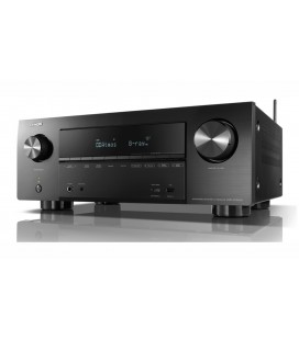Receiver AV 7.2 Denon AVR-X2500H, 150W per channel, HEOS built-in, Wi-Fi, Airplay, Bluetooth, 4K Ultra HD, Hi-Res