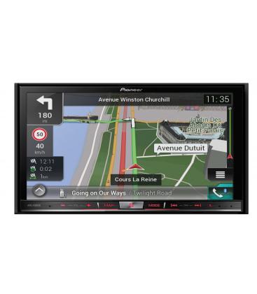 DVD Auto Premium cu navigatie Pioneer AVIC-F80DAB, 2DIN, GPS, CD/DVD, MirroLink si modul Bluetooth® incorporat