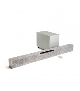 SoundBar Jamo Studio SB 40 Grey, Dolby Audio® Decoding, Wireless Sub, Bluetooth®, HDMI 2.0 4K Video Pass Through