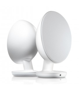 Boxe Active Wireless cu Bluetooth® Kef Egg Satin White