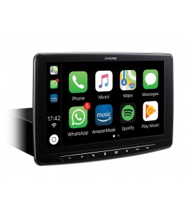 DVD auto Alpine iLX-F903D, 1DIN, Apple CarPlay and Android Auto compatibility