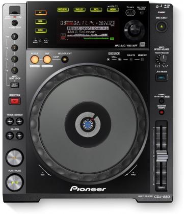 Pioneer CDJ 850 K, CD DECK PIONEER - black