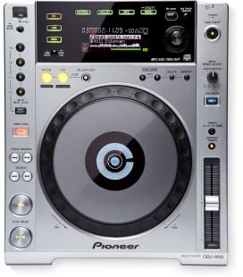 Pioneer CDJ 850 K, CD DECK PIONEER - silver