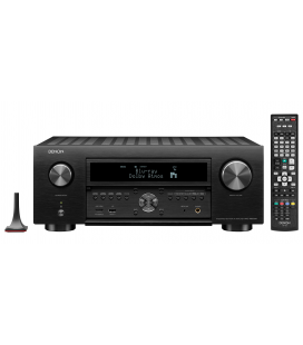 Network AV Receiver AV 11.2 Denon AVC-X6500H, 165W per channel, HEOS built-in, Wi-Fi, Airplay, Bluetooth, 4K Ultra HD, Hi-Res