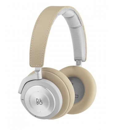 Casti wireless on ear cu microfon Bang & Olufsen Beoplay H9i Natural, ANC Active Noise Cancelling