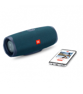 Boxa cu Bluetooth® Wireless Portabila JBL Charge 4 Blue, Baterie 7500mAh, Waterproof IPX7