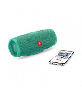 Boxa cu Bluetooth® Wireless Portabila JBL Charge 4 Teal, Baterie 7500mAh, Waterproof IPX7