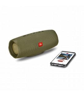 Boxa cu Bluetooth® Wireless Portabila JBL Charge 4 Forest Green, Baterie 7500mAh, Waterproof IPX7