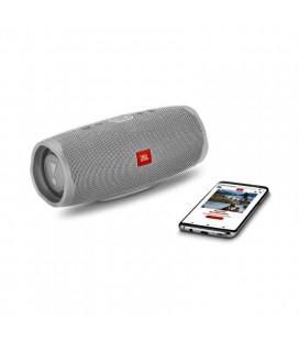 Boxa cu Bluetooth® Wireless Portabila JBL Charge 4 Grey, Baterie 7500mAh, Waterproof IPX7