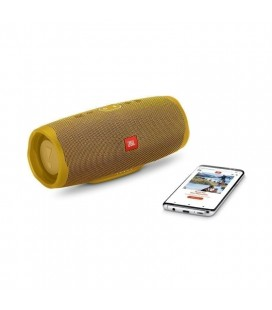 Boxa cu Bluetooth® Wireless Portabila JBL Charge 4 Mustard Yellow, Baterie 7500mAh, Waterproof IPX7