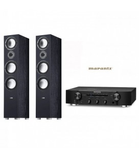 Amplificator Stereo Marantz PM6006 cu Boxe CANTON GLE 496 BLACK