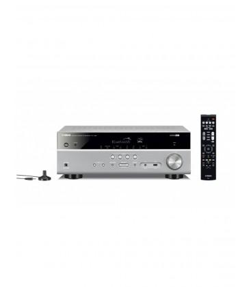 Receiver AV 5.1 Yamaha RX-V385 Black, Bluetooth®, HDMI® 4K UHD, HDR Video, Dolby Vision, Hybrid Log-Gamma, BT.2020