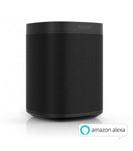 Boxa wireless SONOS ONE BLACK (GEN 2) - bucata, Apple AirPlay, Amazon Alexa, Multiroom