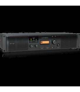 Amplificator audio profesional Behringer NX1000D, 2 x 300 W în 4 Ohmi