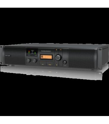 Amplificator audio profesional Behringer NX6000D, 2 x 1600 W în 8 Ohmi
